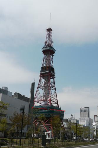 札幌TVタワー遠景