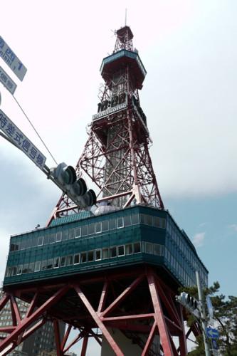 札幌TVタワー近景