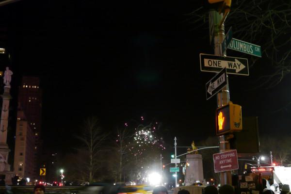 セントラルパークの花火