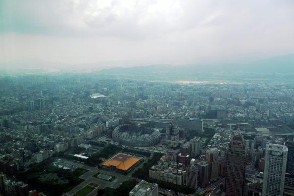 台北101よりの眺め
