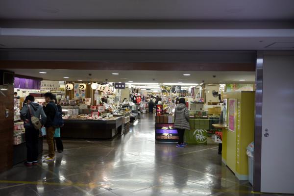 京都タワービルお土産物売り場