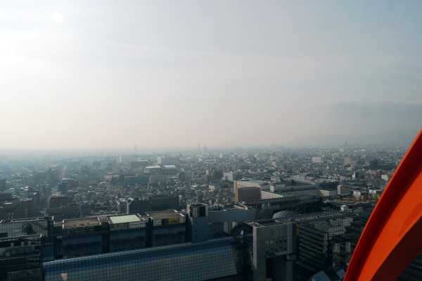 京都タワーから
