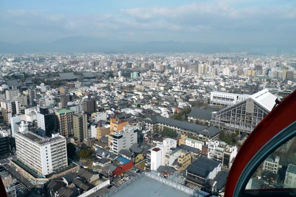 京都タワーからの様子