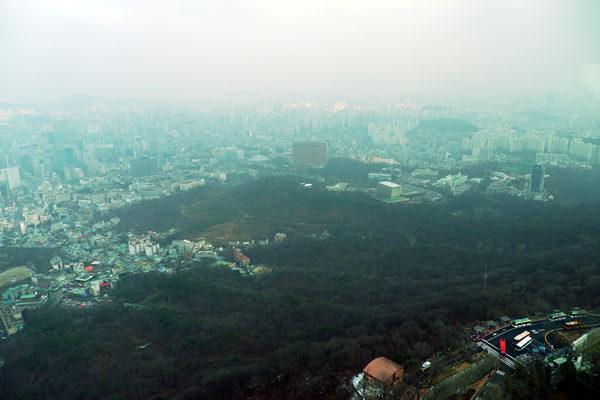 ソウルタワーからの眺め1
