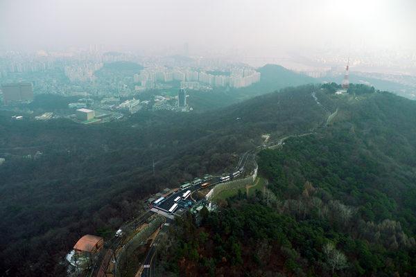 ソウルタワーからの眺め2