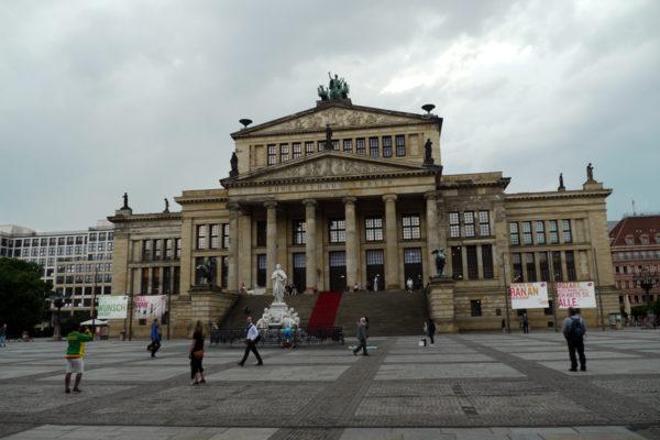 コンサートホール。ベルリン・コンツェルトハウス管弦楽団の本拠地。