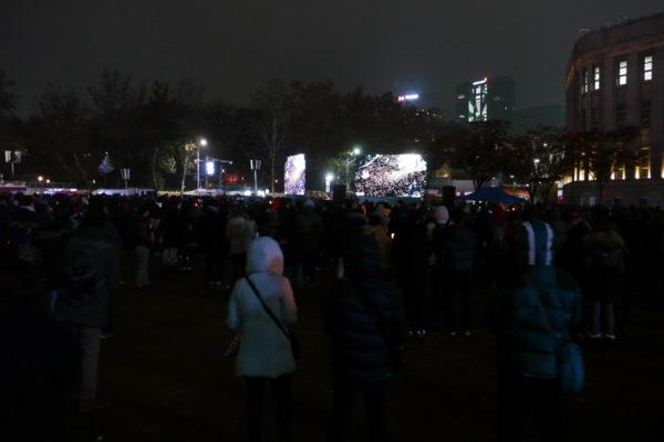 ソウル、デモ