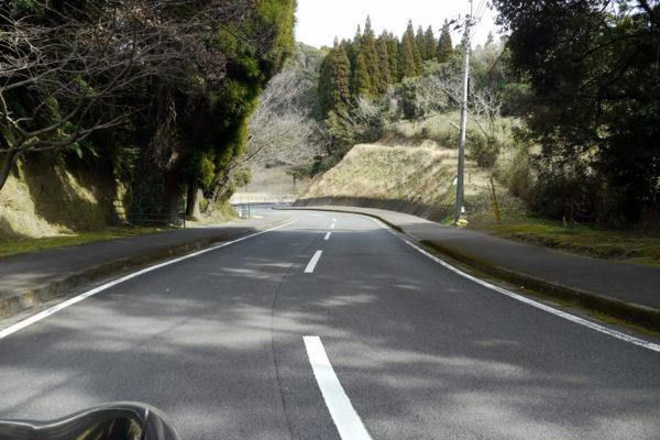 城山公園までの道