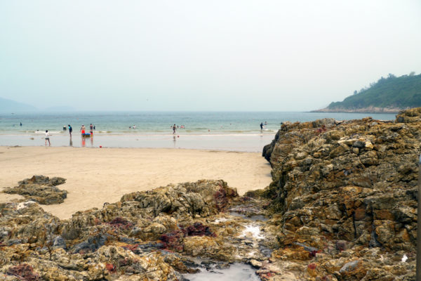大浪湾の風景