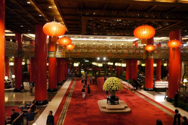 グランドホテル台北 ロビー