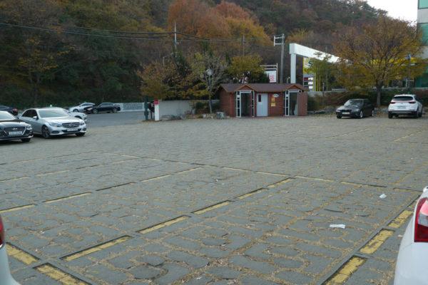 太和江展望台の駐車場